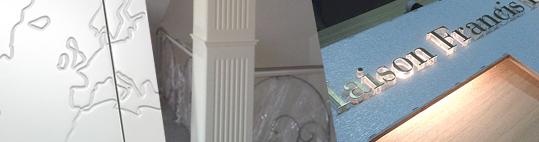 pantografiado puertas rotulos logotipos paneles