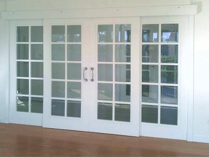 Puertas correderas blancas latest armario empotrado de - Puertas correderas blancas ...