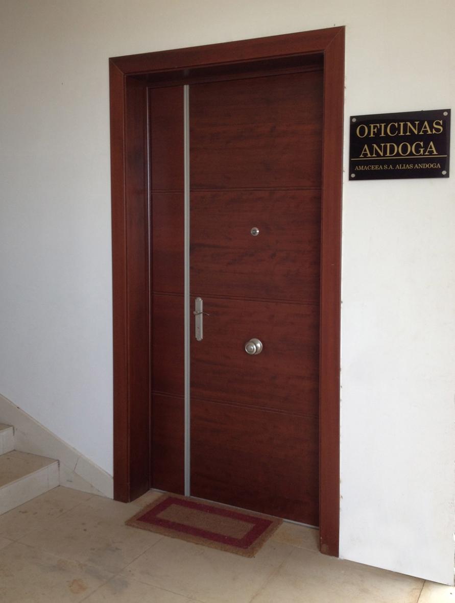 Puerta blindada para oficina de medida especial blog de for Puertas para oficinas precios