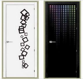Puertas lacadas decoradas impresion digital. Puertas Miansa