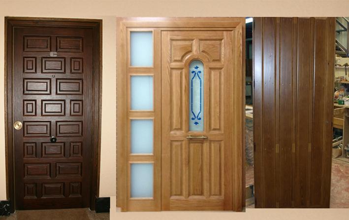 Puertas madera decoraci n puertas miansa for Puertas de madera estilo antiguo