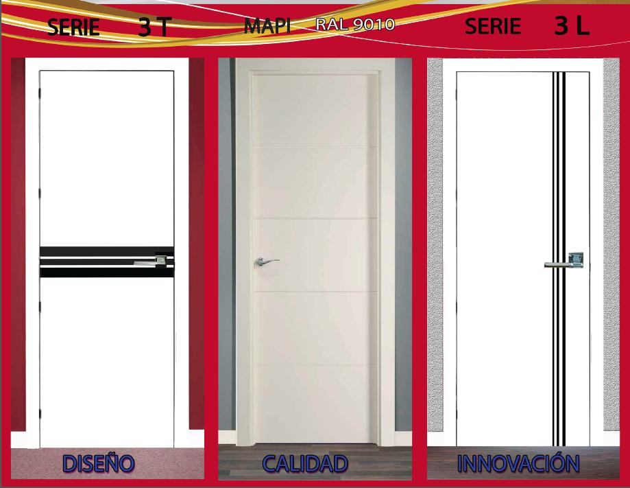 Oferta en puertas lacadas blancas m xima calidad a un for Precio de puertas blancas