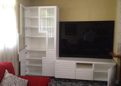 Muebles Lacados Blanco Para Salon.Mueble A Medida Lacado Alto Brillo Para Salon Blog De