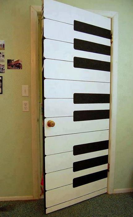 Puerta de interior de diseo personalizadoplay de piano Blog
