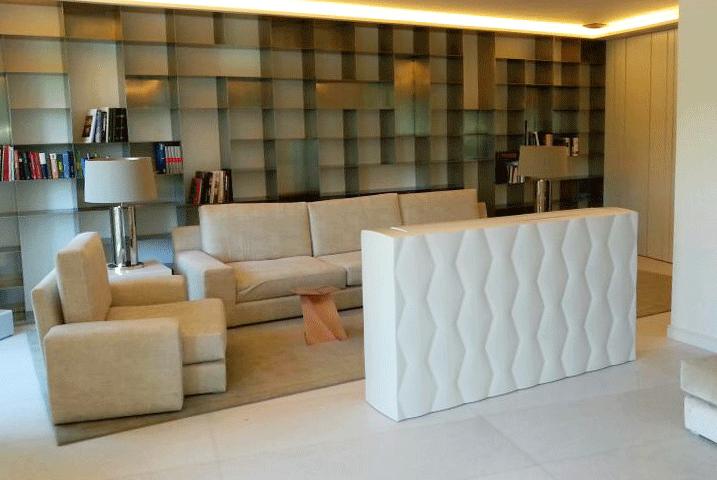 Fabricación de mueble a medida lacado blanco con diseño 3D - Blog de ...
