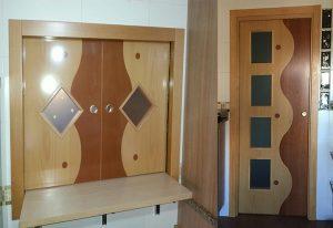 Fabricación de puerta a partir de original