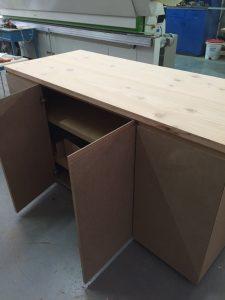 Mueble personalizado antes