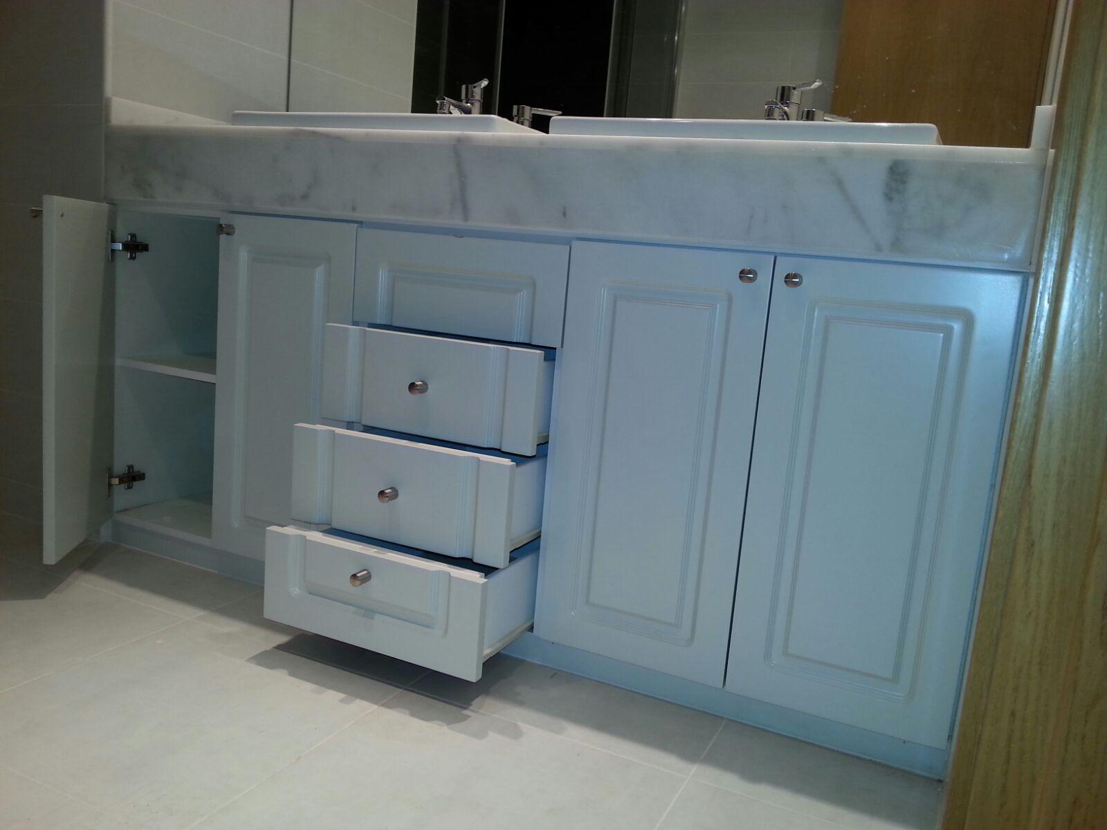 Armarios De Baño A Medida:Muebles De Baño A Medida Lacados