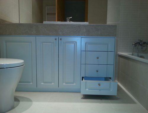 Muebles de baño a medida lacados