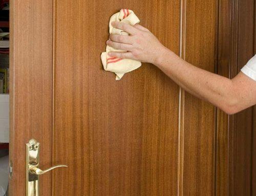 Consejos para la limpieza de las puertas lacadas