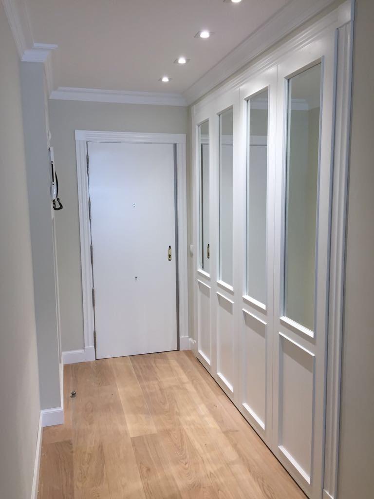 Frentes de armario y puertas de paso lacadas a medida for Puertas a medida