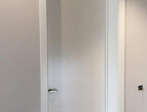 Nuevo trabajo de puertas lacadas