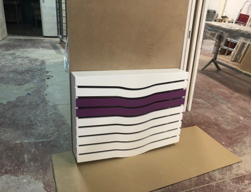 Cubreradiador lacado diseño y color a medida